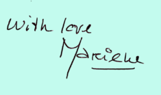 Handtekening Marieke-3 blauw